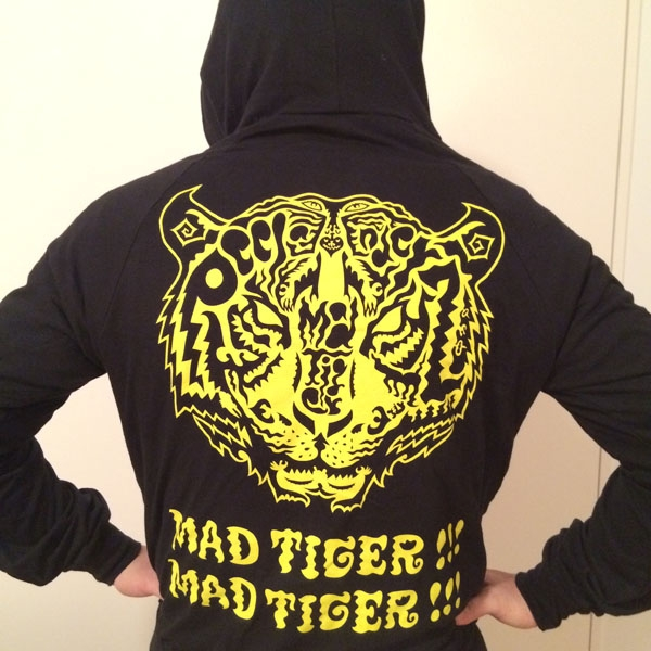 Mad Tiger Hoodies