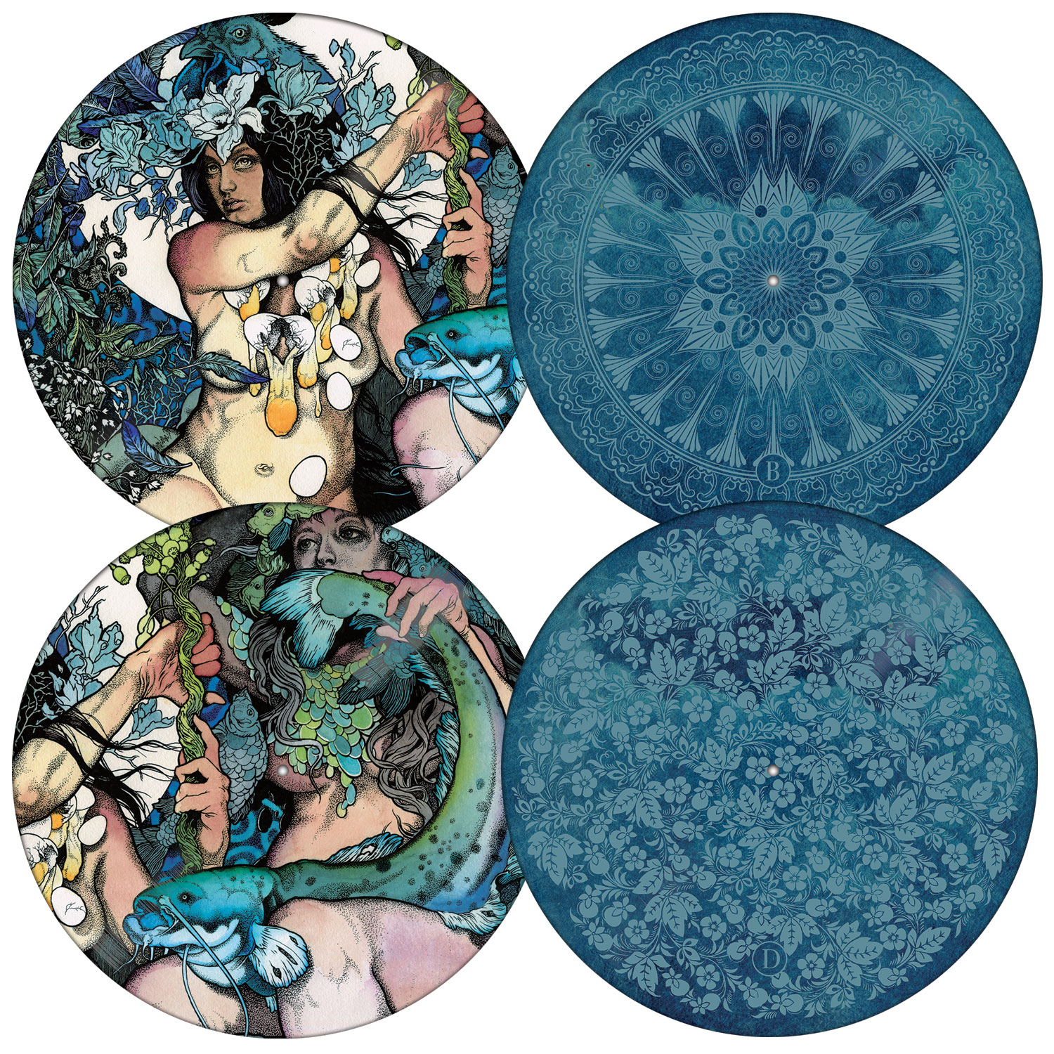 """Baroness """"Blue Record"""" 2x12"""" - Relapse Records"""