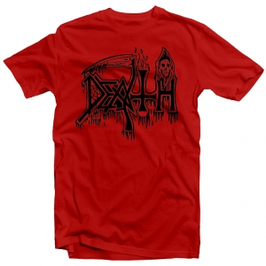 Classic Logo (Black on Red)