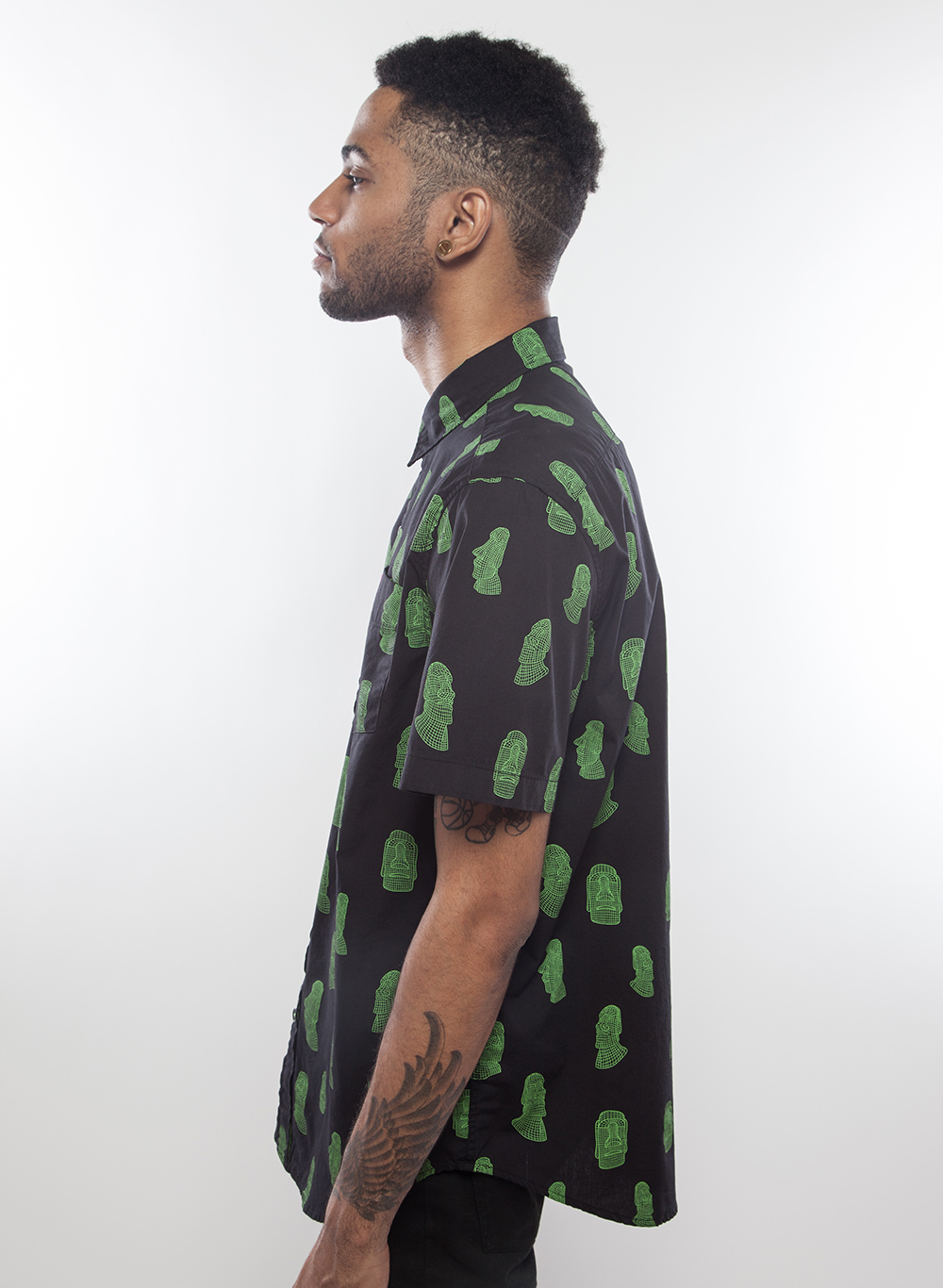 Monolithic Button Up