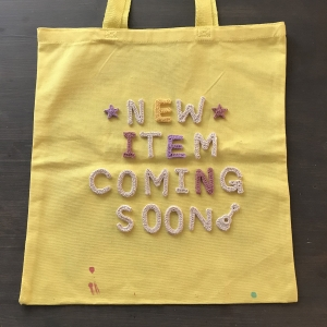 Hand-Painted Tote 2020