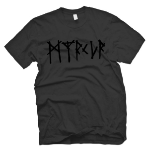Myrkur Logo (Black on Black) *FOR BOXSET*