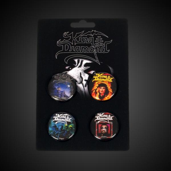 King Diamond Pin Pack