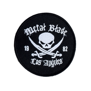 Pirate Logo Round Patch