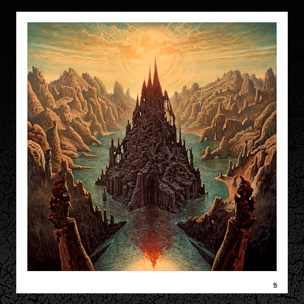 Rivers of Nihil. (Monarchy) Album Cover