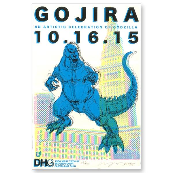 Gojira Show Poster