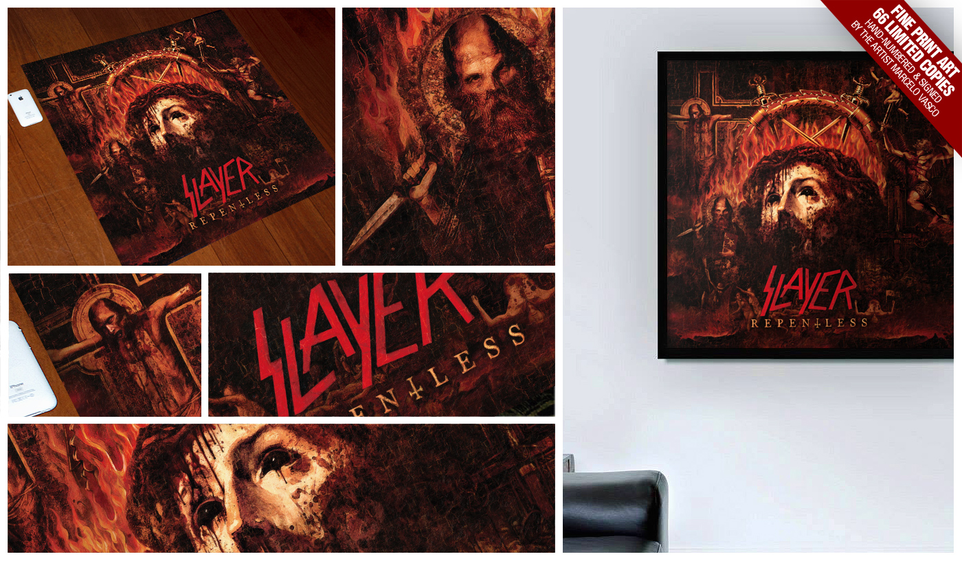 Repentless Print