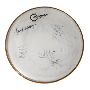 Signed Drum Head