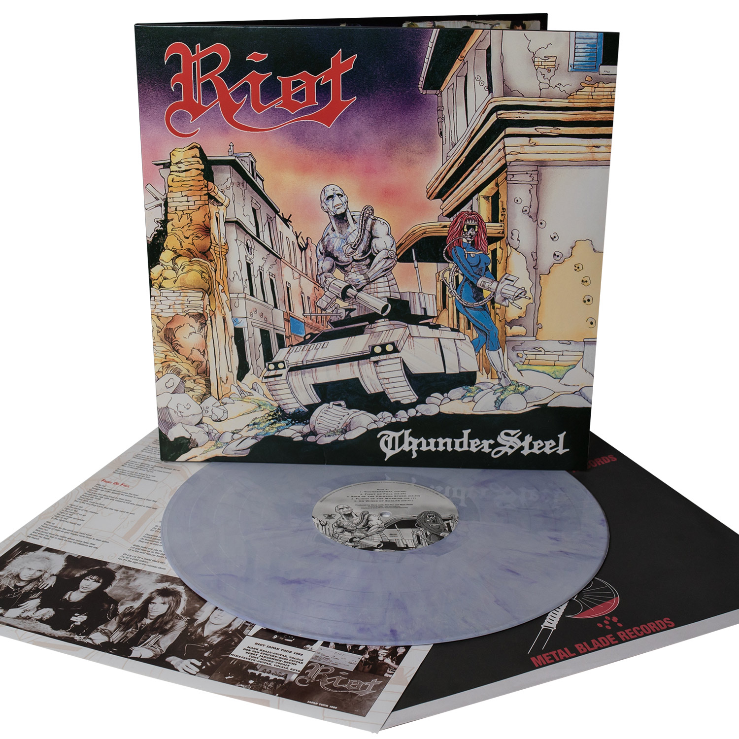 "Riot ""Thundersteel"" 12"" - Metal Blade Records"