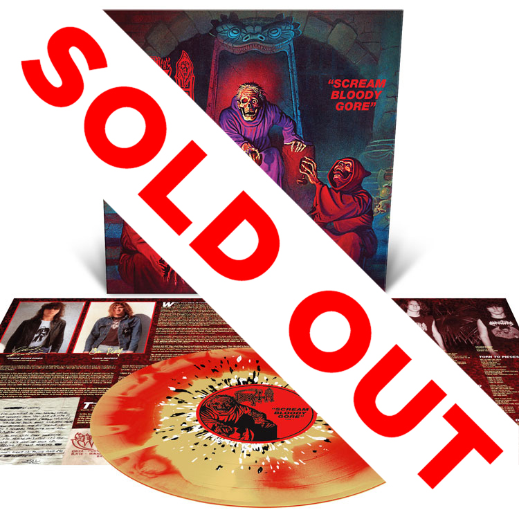 Scream Bloody Gore Reissue