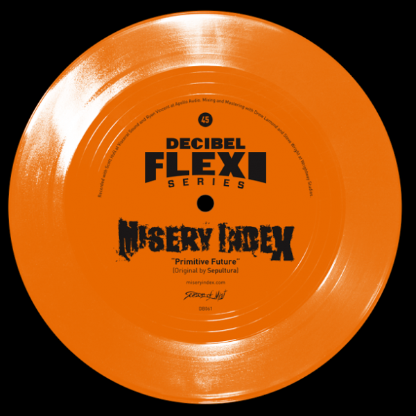 "Misery Index ""Primitive Future"" Flexi-disc"