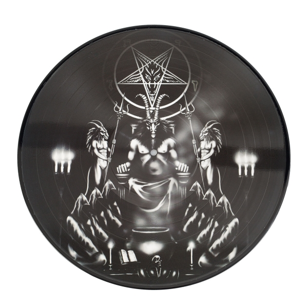 Invoking the Majestic Throne of Satan (pic disc)
