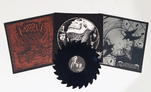 Machetazo | Marrow Split LP (Saw Blade Vinyl)