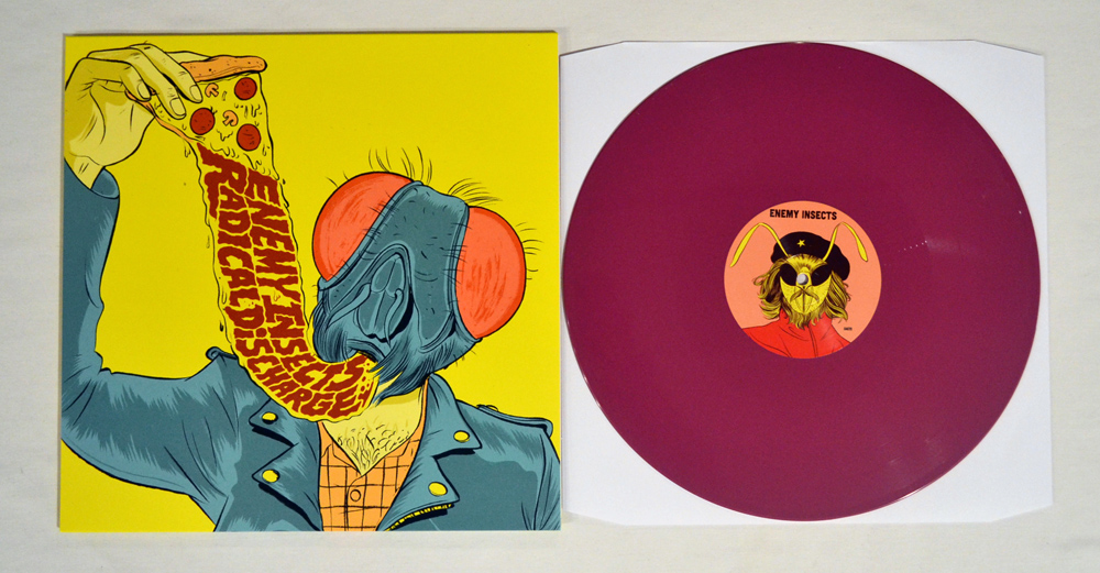 Enemy Insects | Radical Discharge Split LP