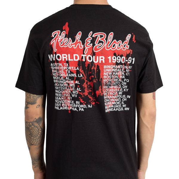 Flesh And Blood Tour