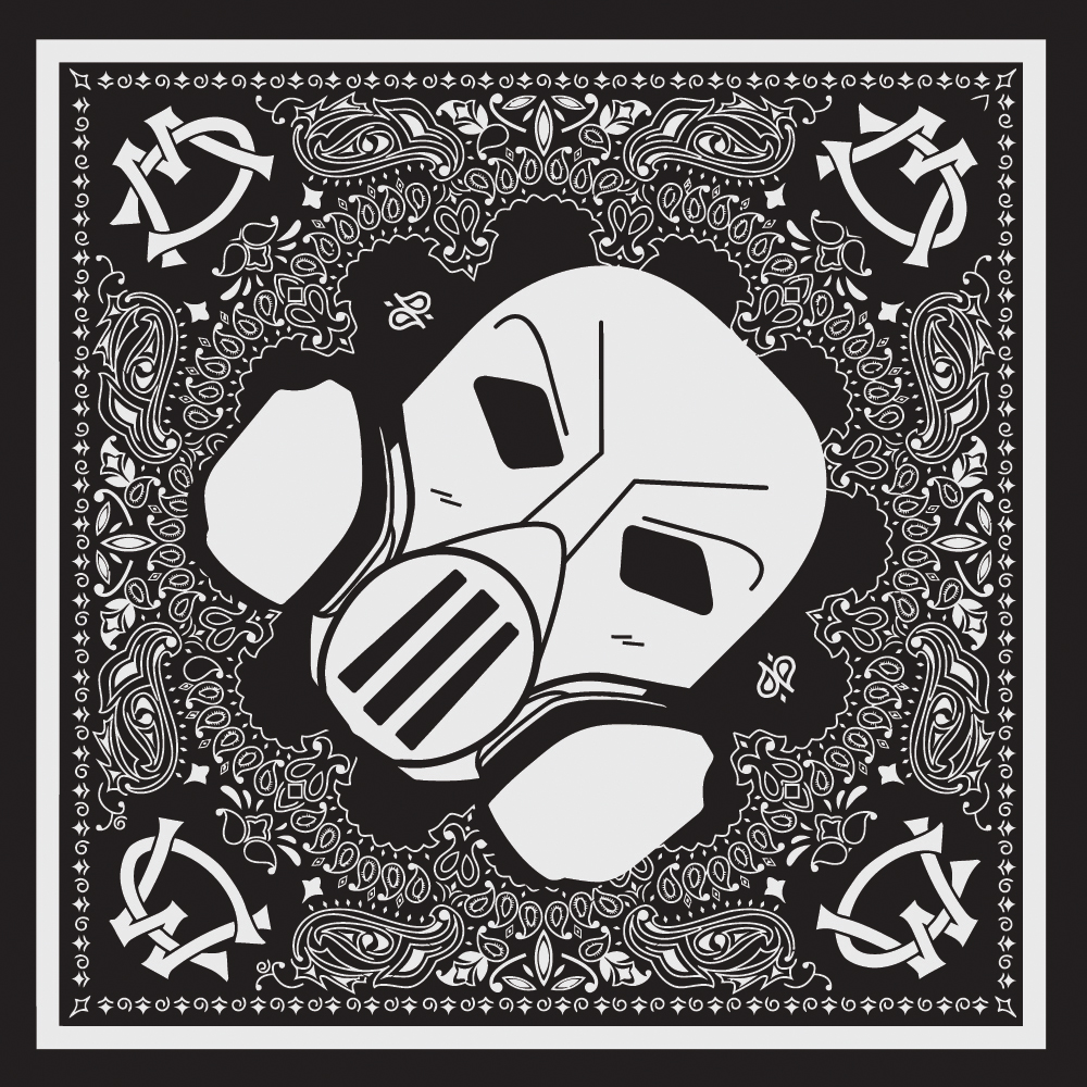 Webster's Lab II Bandana