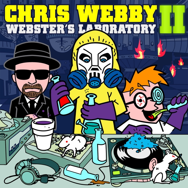 """""""Webster's Lab II"""" Signed CD"""