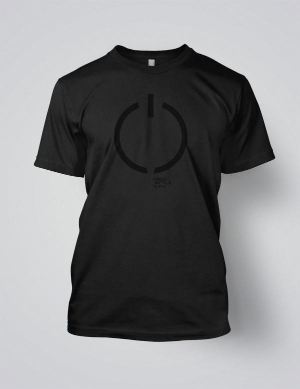 Airbag - Disconnected black on black logo