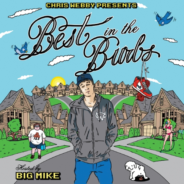 """""""Best in the Burbs"""" Signed CD"""