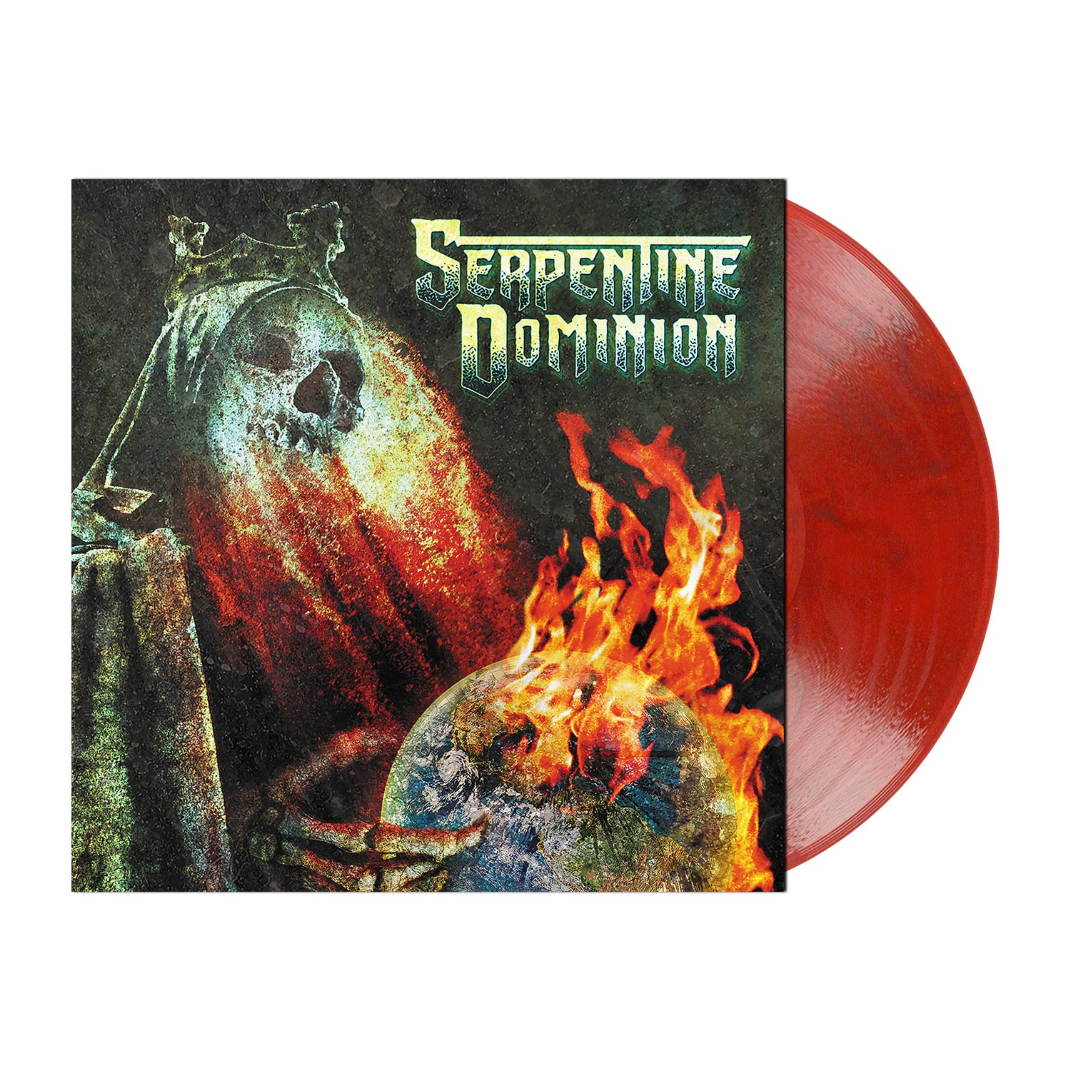 Serpentine Dominion - Marbled Red