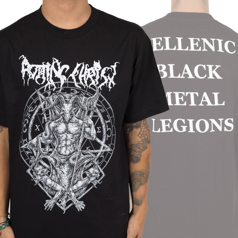 Rotting Christ Hellenic Black Metal Legions T-shirt Kleidung & Accessoires