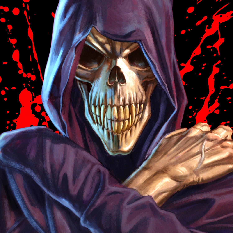 Necro Grim Reaper T Shirt Necro