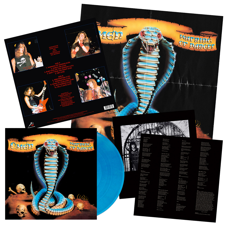 Warning of Danger (Metallic Blue Vinyl)