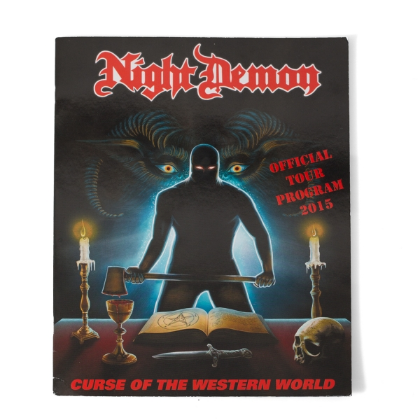 Curse of the Western World 2015 Tour Program