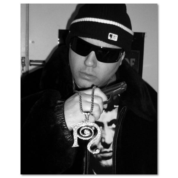 Gangsta Signed 8x10