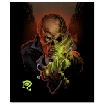 The Pre-Fix For Death Signed Canvas Print