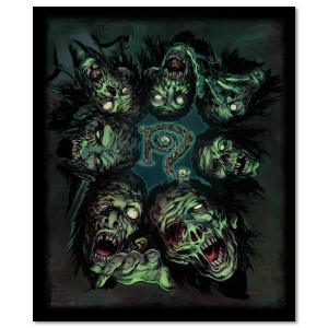Zombies POV Signed Canvas Print