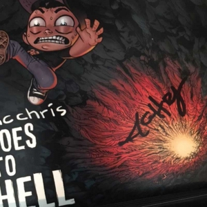 mc chris goes to hell (signed)