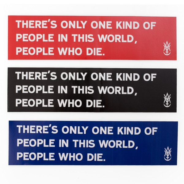People Who Die