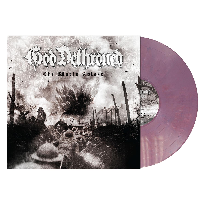 The World Ablaze (Violet Vinyl)