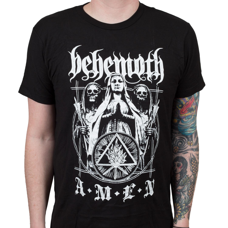 Behemoth Quot Amen Quot T Shirt Indiemerchstore