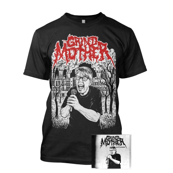 Grindmother Tee + CD Bundle