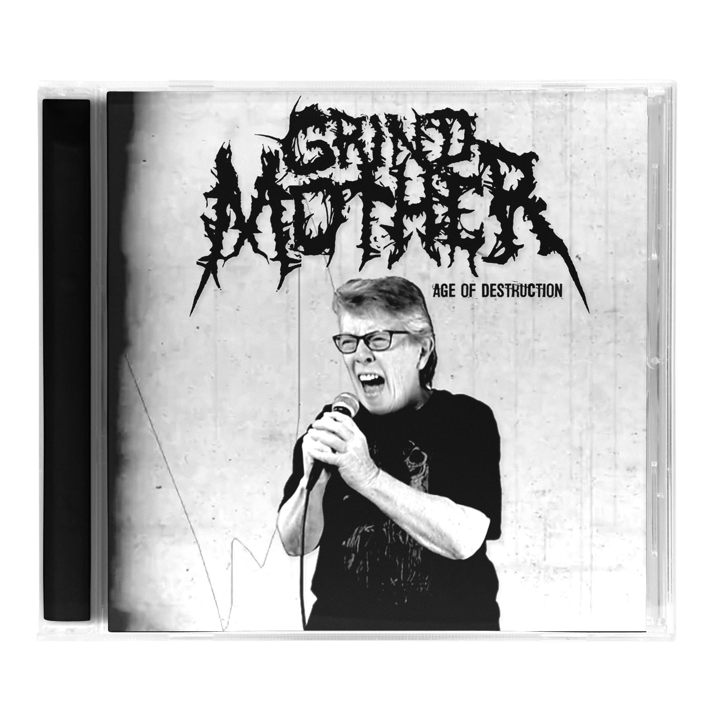 Grindmother Tee + CD Bundle