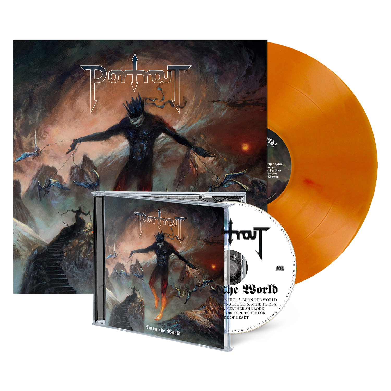 Burn the World - CD/LP Bundle