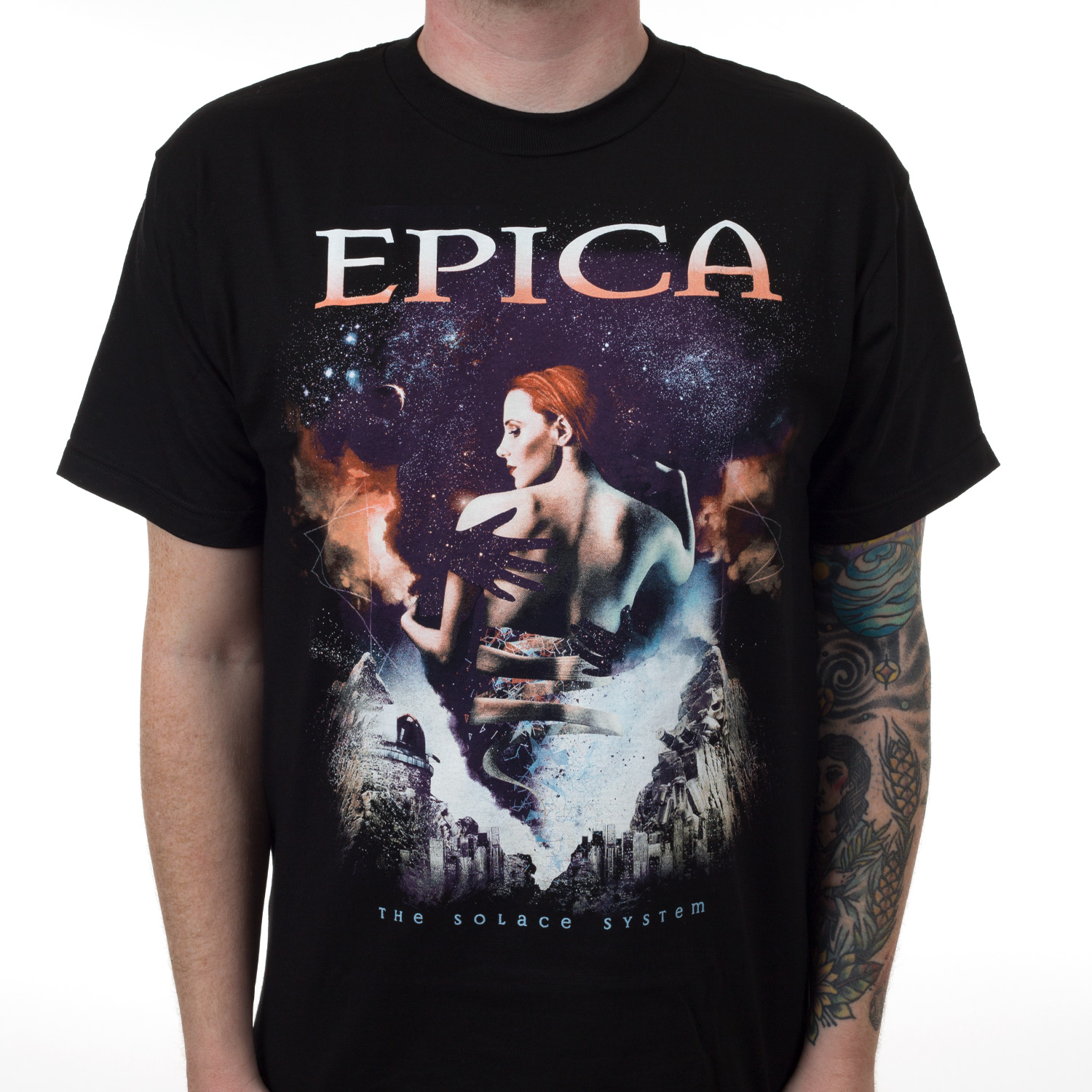 Herrenmode Epica The Holographic Principle T-shirt Musik