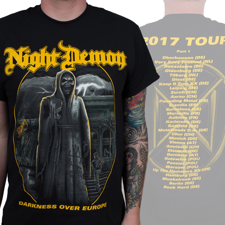Darkness Over Europe Tour Shirt