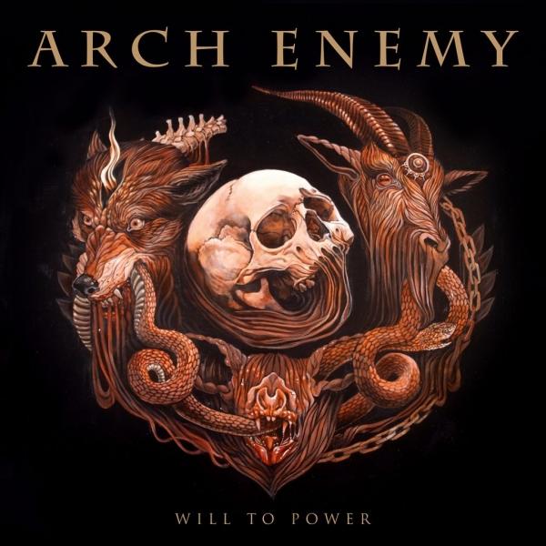 Will To Power LP/CD Bundle (Golden/Black Marbled vinyl)
