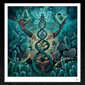 Decrepit Birth 'Axis Mundi' Album Cover
