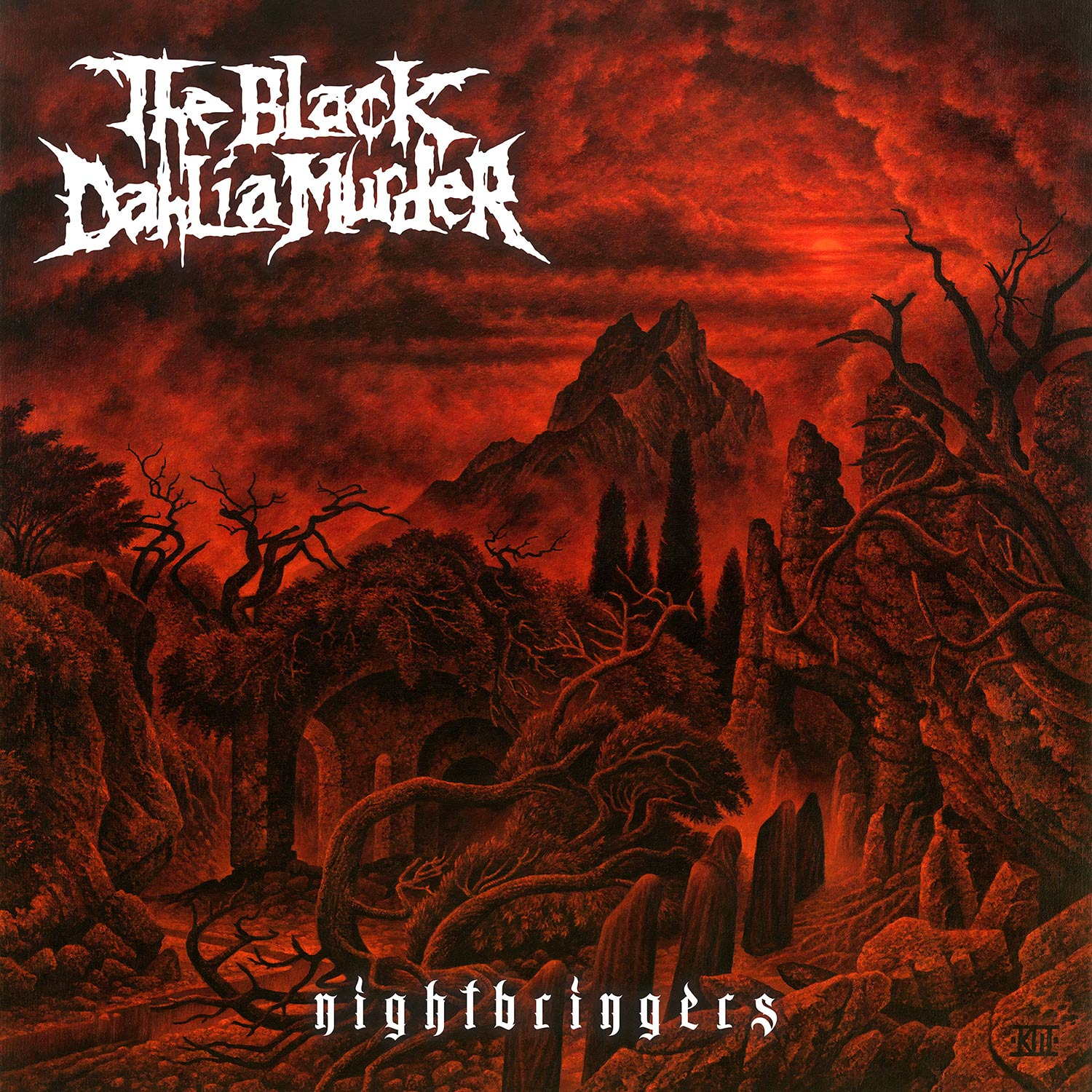 The Black Dahlia Murder Nightbringers Cd Metal Blade Records