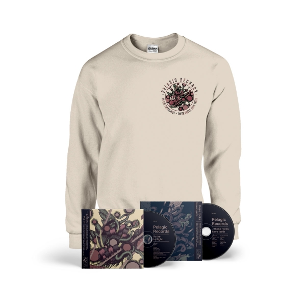 These Rocks Have Teeth Crewneck Bundle