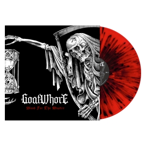 Blood for the Master (Red w/ Black Splatter)