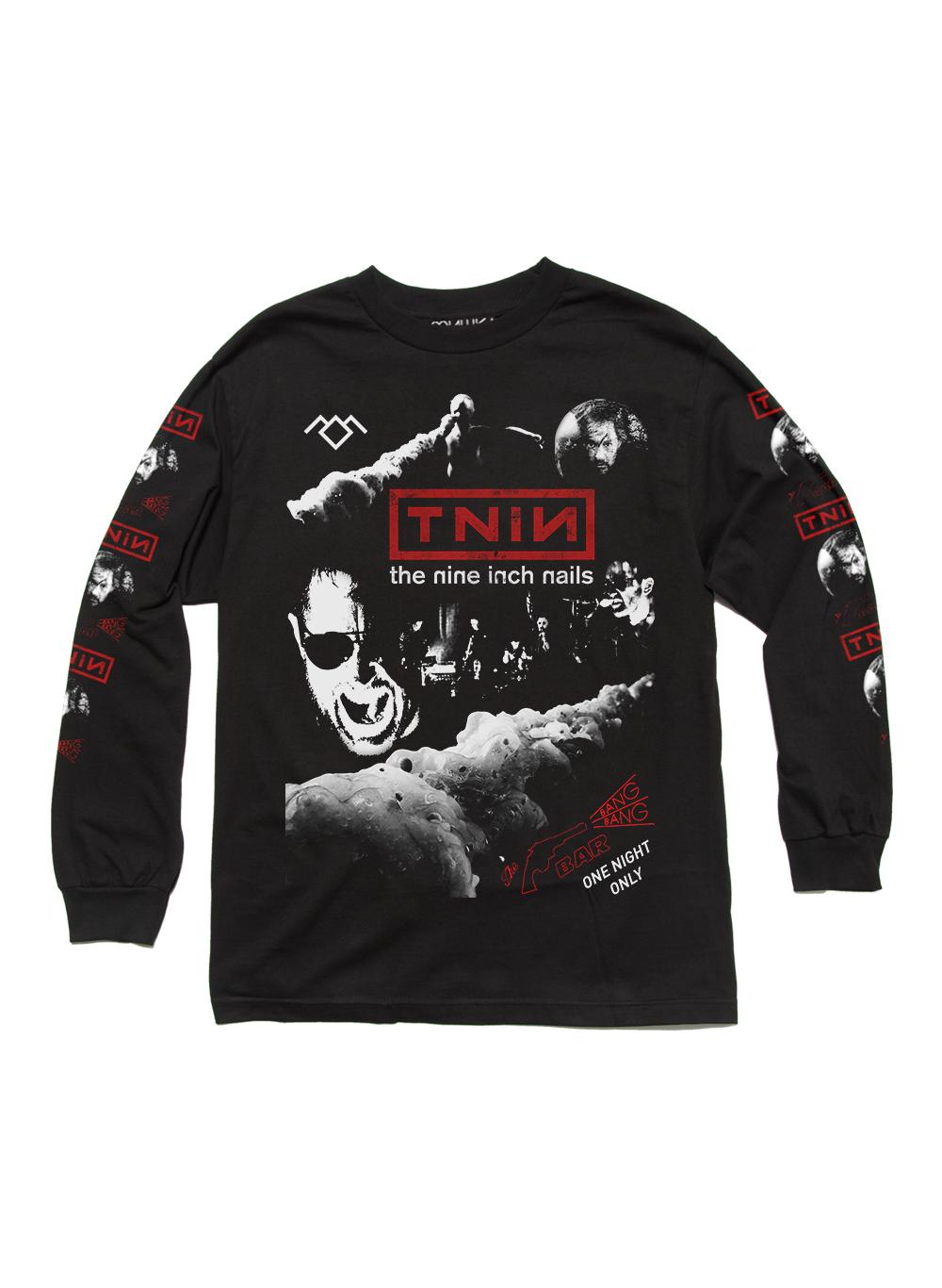 Mishka Tnin Longsleeve Sweater Nine Inch Nails Nin