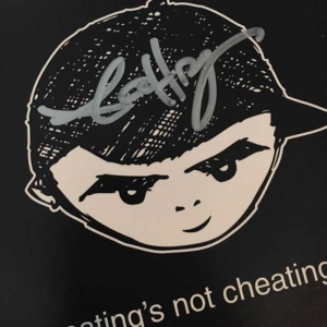 eating's not cheating (signed)