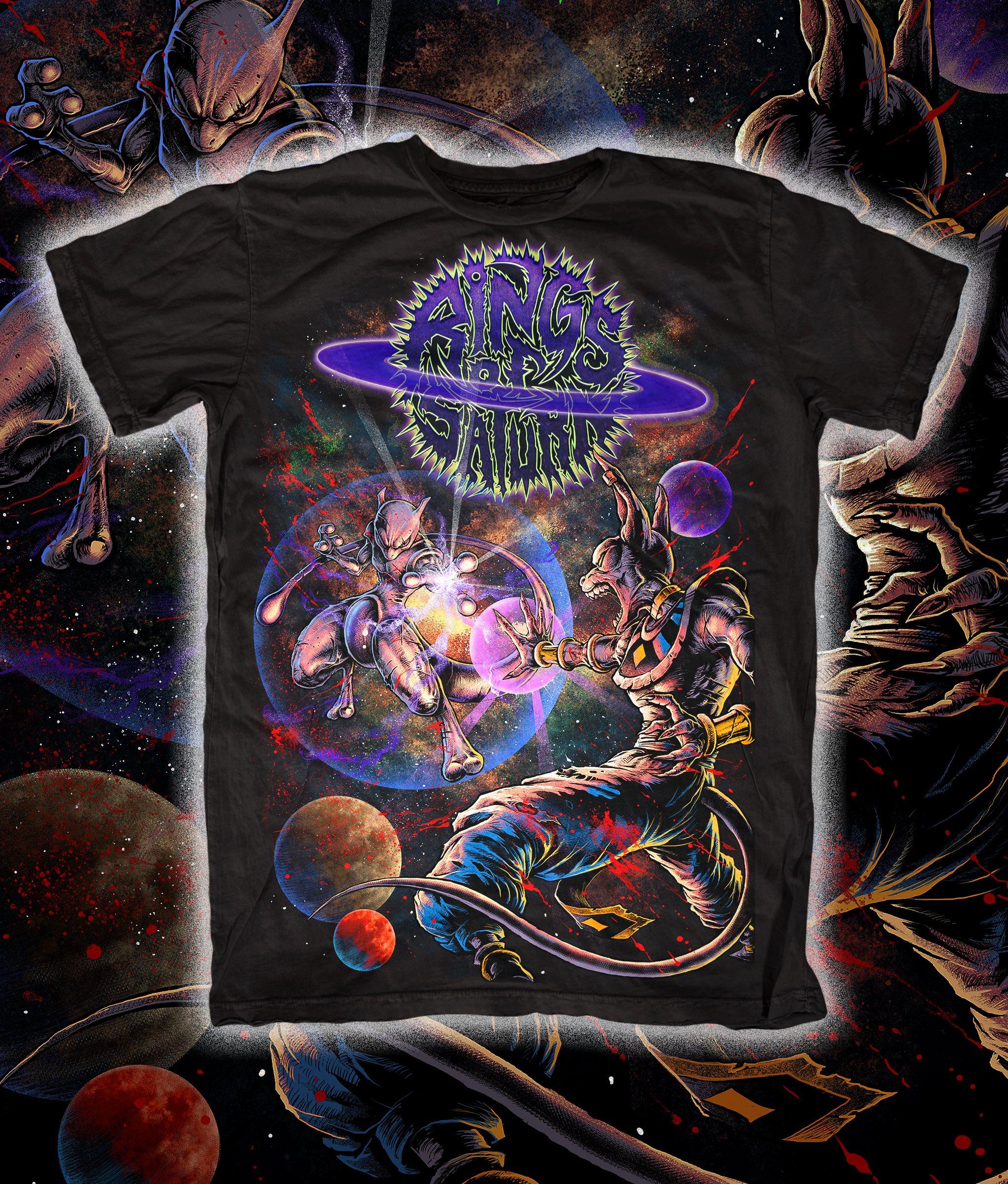 Rings Of Saturn Legendary Warriors T Shirt Rings Of Saturn