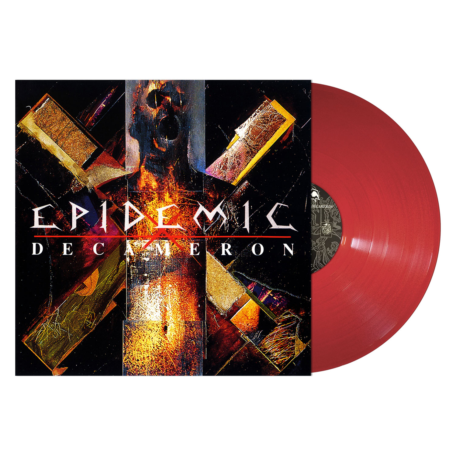 Epidemic Quot Decameron Quot 12 Quot Metal Blade Records