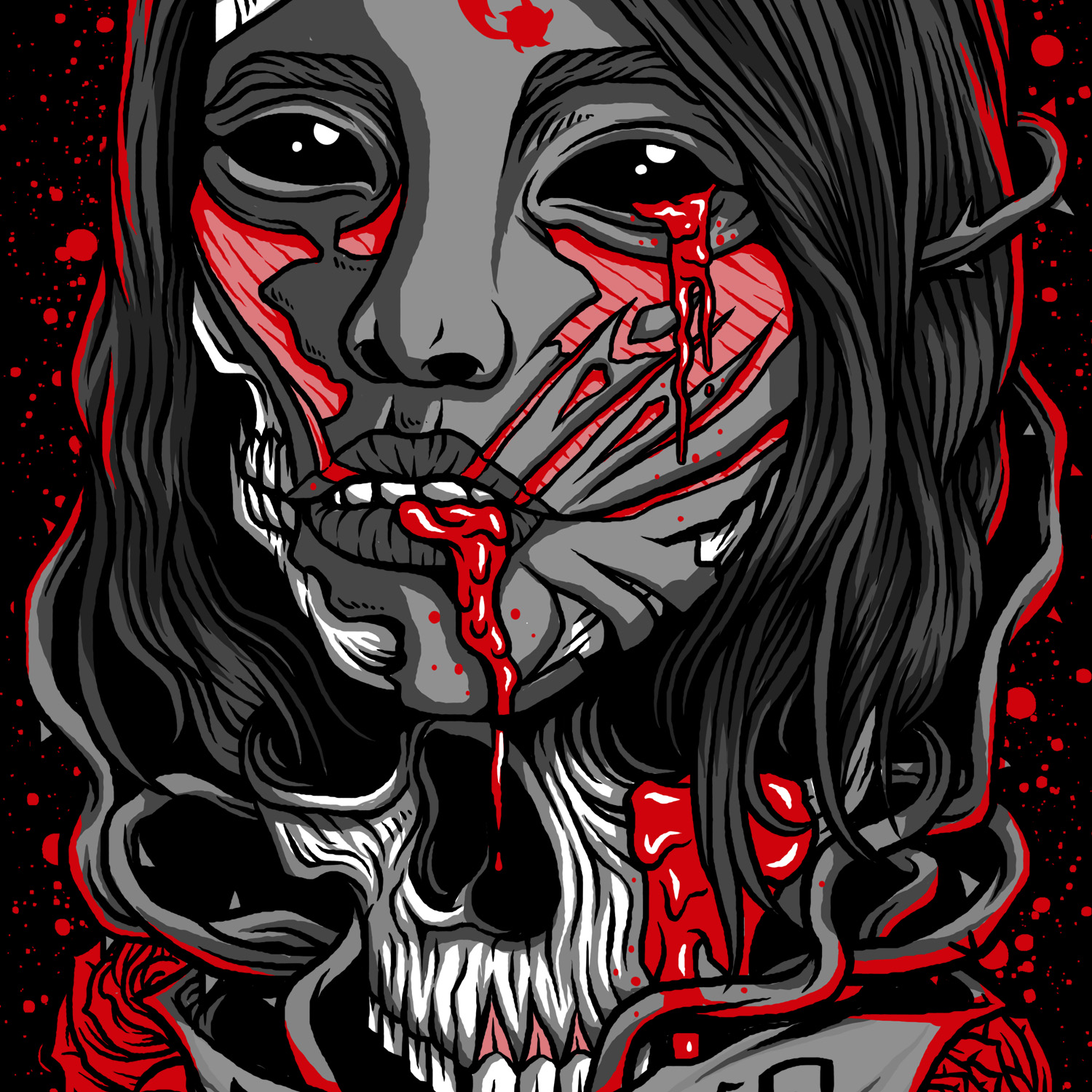 Gory Days Bloody Roses